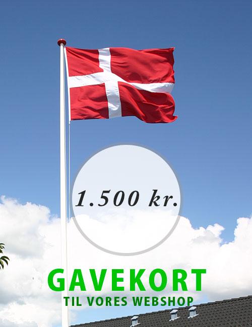 Gavekort - 1.500 kr.
