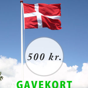 Gavekort - 500 kr.