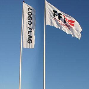 Reklameflag til 10 meter flagstang